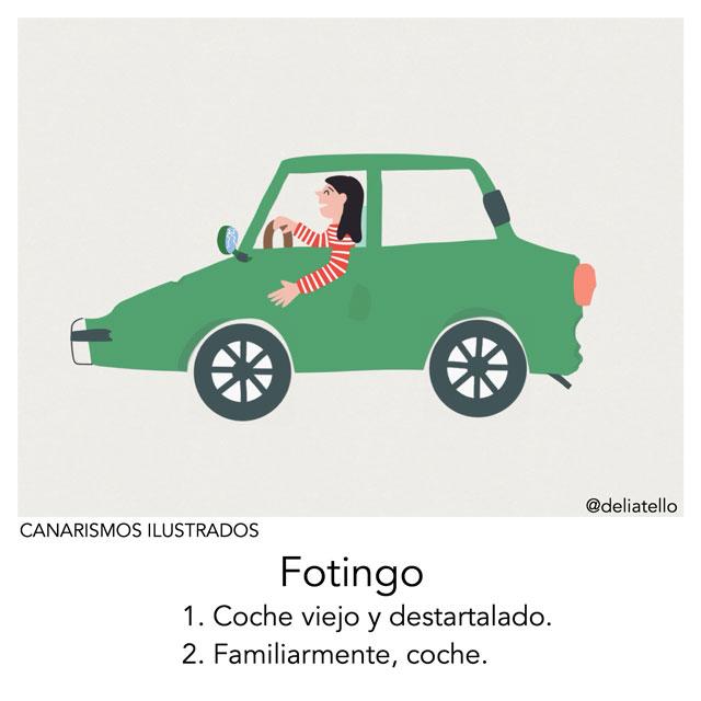 Fotingo - canarismos ilustrados