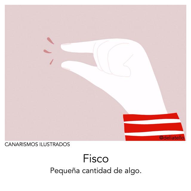 fisco - canarismos ilustrados