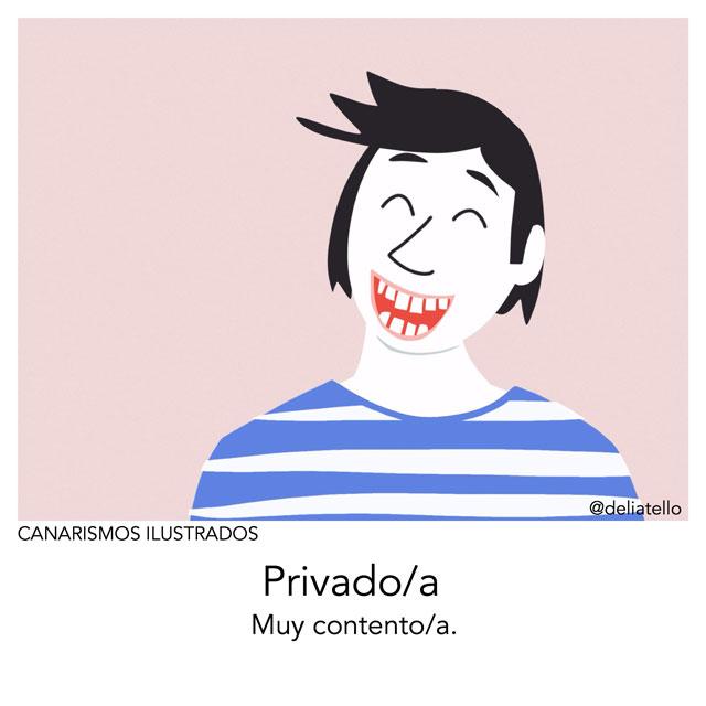 privado - canarismos ilustrados