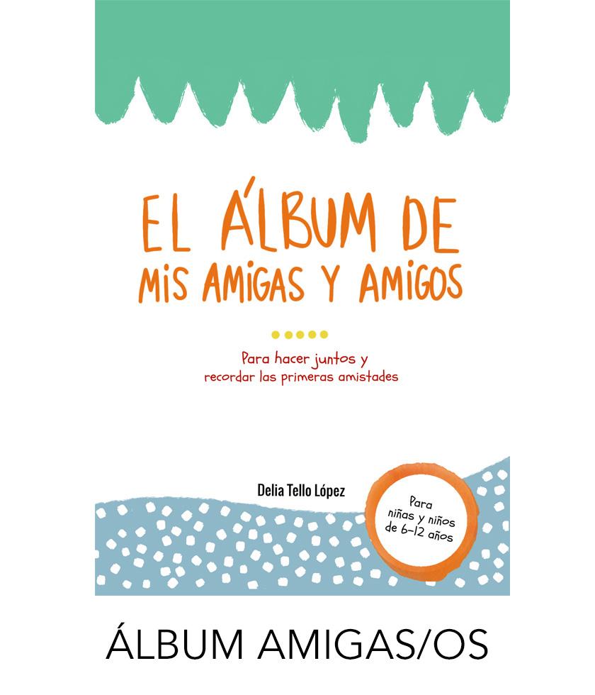 álbum amigos - álbum amigas - libro de amigos - libro de amigas