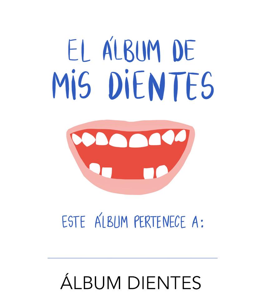 álbum dientes - ratoncito pérez -