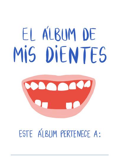 álbum dientes - libro dientes - ratoncito pérez
