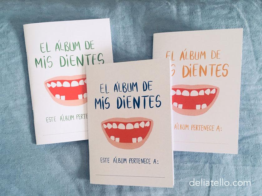 ratoncito pérez - álbum de dientes - album de dientes